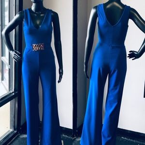 Dresses & Skirts - Electric Blue Jumpsuit